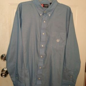 Men's Chaps Button Down Shirt Size XL